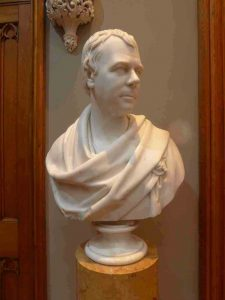 Blairquhan-Castle-Art-Marble-Bust