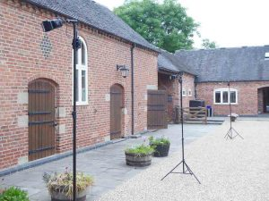 Farm wedding venue near Stafford