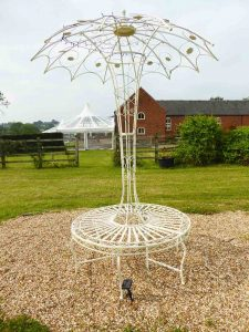 Wedding garden furniture