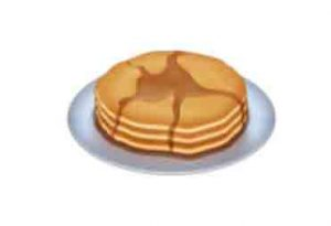 the new pancake emoji
