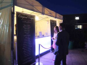 Crepe catering at cheshire wedding
